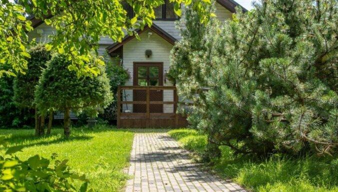 ФОТО. Как выглядит сад бывшего премьер-министра Эстонии и мэра Таллина Эдгара Сависаара