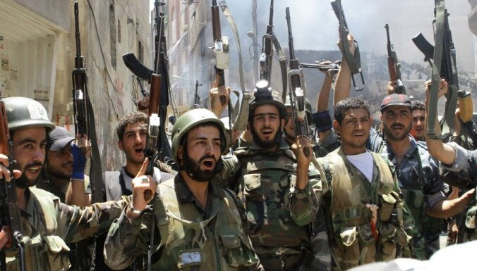 Сирийские власти с боями освободили аэропорт Дамаска