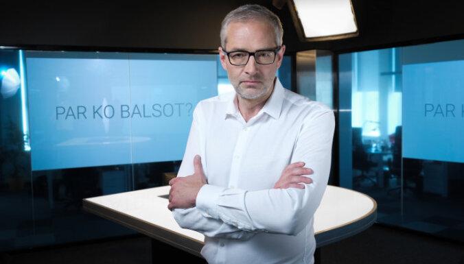 За кого голосовать? Лидеры латвийских партий - в серии ТВ-дискуссий с Янисом Домбурсом
