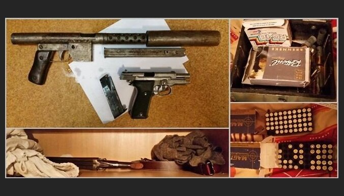 """Полиция изъяла внушительные подпольные арсеналы: под подозрением бывший военнослужащий, ювелиры и """"черные копатели"""""""