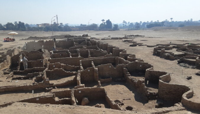 Потерянный древний город найден в Египте