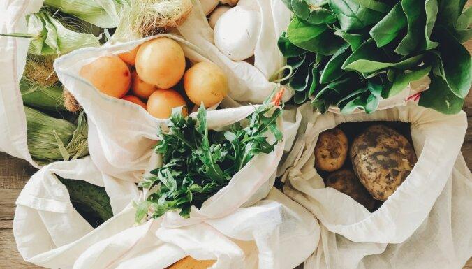 Vienkāršas stratēģijas, kā savu uzturu padarīt dabai draudzīgāku