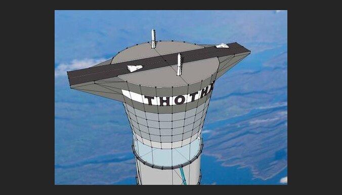 Канадская компания планирует построить лифт 20 км высотой
