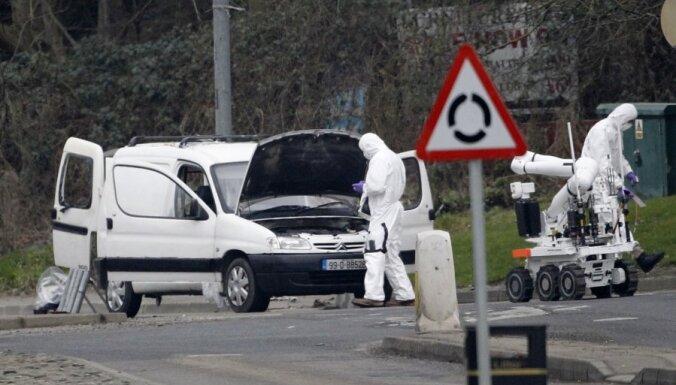 Ziemeļīrijas policija pēdējā brīdī novērš teroraktu; konfiscē mīnmetēja lādiņus