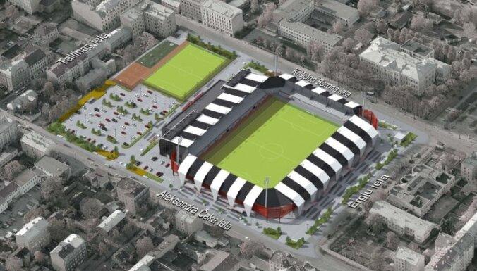 Barona ielas stadiona rekonstrukcijas konkursā uzvar SIA 'Arčers' piedāvājums, atklāj LFF