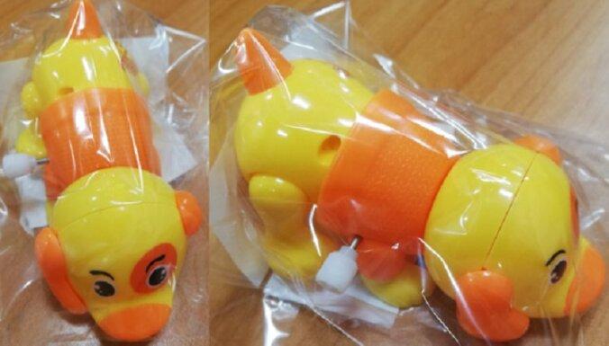 PTAC atsauc 'Rimi' nopērkamu nedrošu rotaļlietu – sunīti