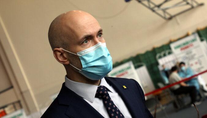 """Павлютс: заявление Даугавпилса о выборе вакцин - """"недоразумение"""""""