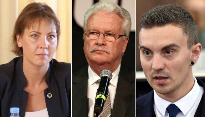 Administratīvi sodīti Saeimas deputāti Budriķis, Dūklavs un Muižniece