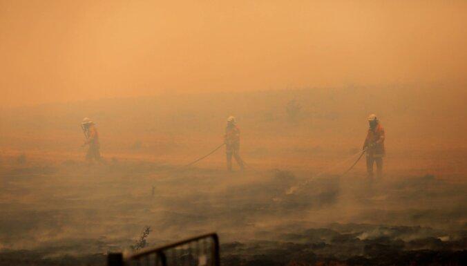 Visi Jaundienvidvelsas savvaļas ugunsgrēki ir ierobežoti