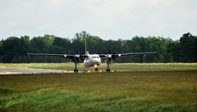 'airBaltic' reiss no Bergenas uz Rīgu aizkavējies; iespējams, draudēts ar spridzekli