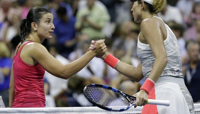 Anastasija Sevastova, Garbine Muguruzan US Open