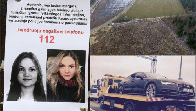 Lietuvā mīklaini pazudusī sieviete atrasta mirusi; aizturēti četri aizdomās turamie