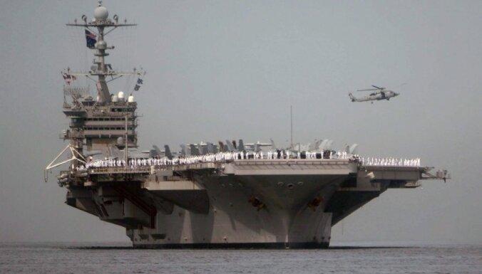 ASV un Dienvidkoreja sāk plašas militārās mācības kā brīdinājumu Ziemeļkorejai