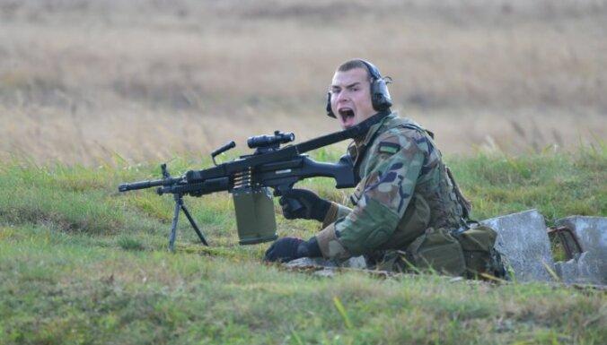 В Латвии стартовали военные учения Simple Strike-2015
