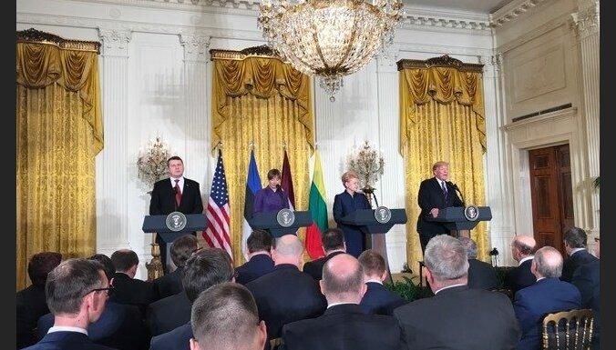 Встреча Трампа с лидерами стран Балтии: избранные цитаты