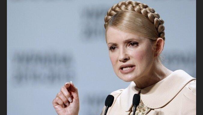 Timošenko tiesā apstrīd Ukrainas prezidenta vēlēšanu rezultātus