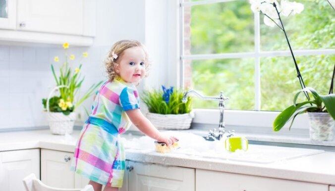 Netīrākās vietas virtuvē, kurām jāpievērš uzmanība