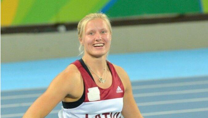 Латвийская паралимпийка стала в Лондоне трехкратной чемпионкой мира
