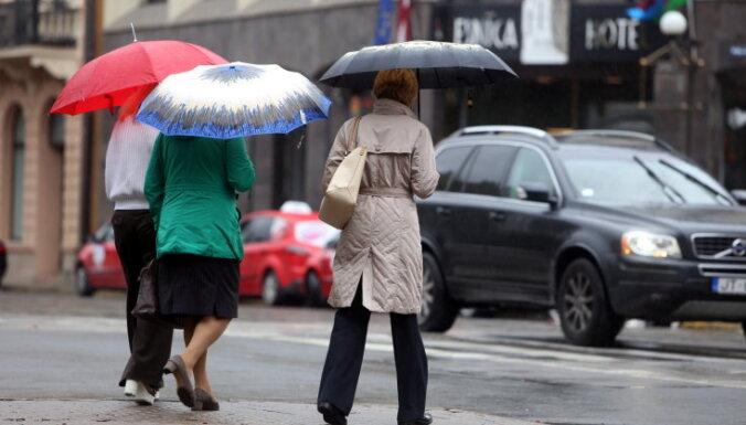 Diennakts nokrišņu daudzums Rīgā – lielākais kopš 2010. gada vasaras