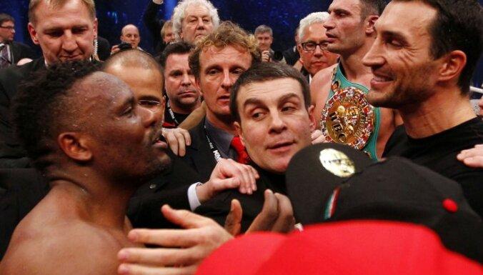 В субботу на ринге сразятся Кличко и Мормек