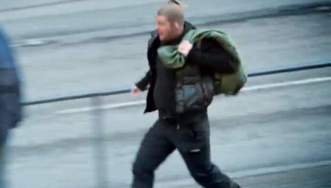 ВИДЕО: Как в Таллине реагируют, увидев ограбление банка