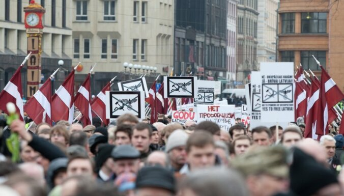 Мероприятия 16 марта прошли на удивление спокойно