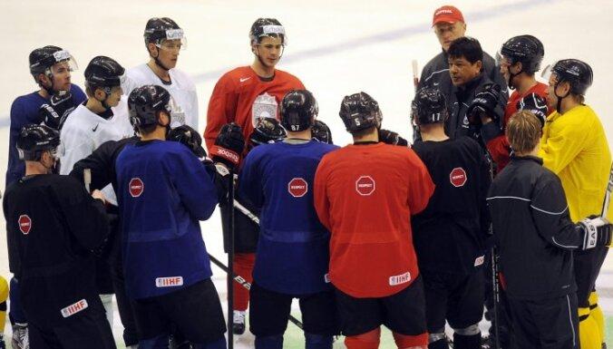 Хоккеисты Латвии в ноябре дважды сыграют со сборной России