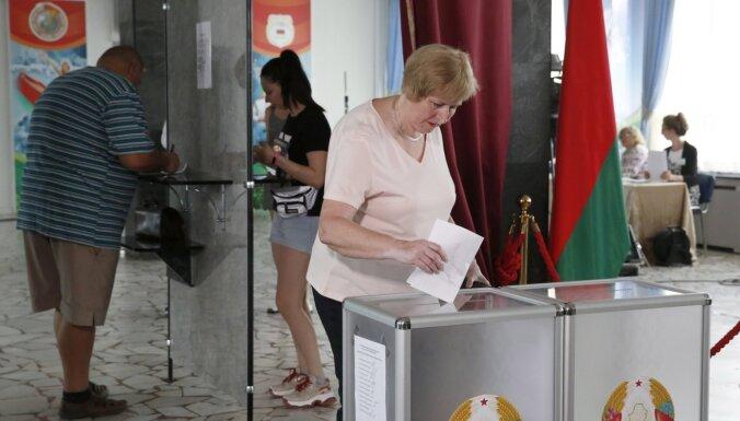 Lielbritānija noraida 'krāpnieciskās' Baltkrievijas vēlēšanas