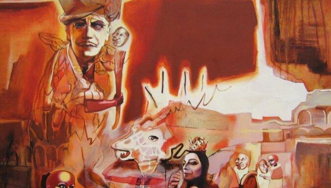 Rīgas mākslas telpā būs apskatāma Ilzes Jaunbergas pirmā personālizstāde