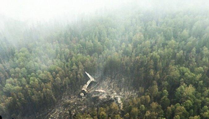 Krievija atradusi avarējušās ugunsdzēsības lidmašīnas vraku; izdzīvojušo nav