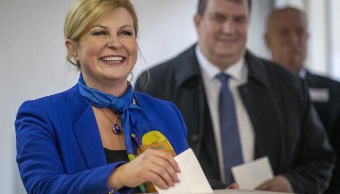В Хорватии проходят президентские выборы