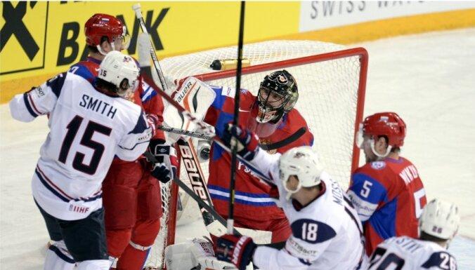 Американцы нанесли сборной России самое крупное поражение на ЧМ (ФОТО, ВИДЕО)