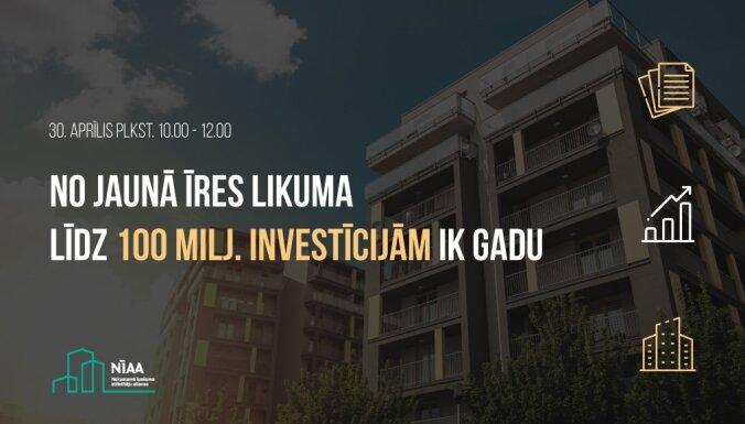 Diskusija: no jaunā īres likuma līdz 100 miljonu investīcijām ik gadu. Ieraksts.