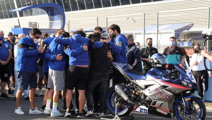15-летний испанский мотогонщик погиб во время гонки на трассе в Хересе