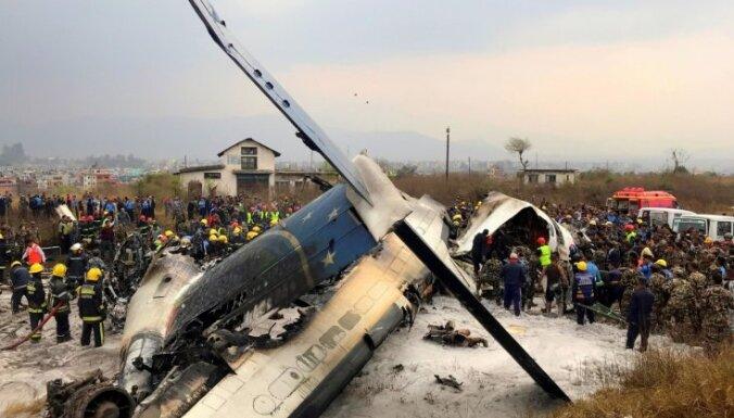В Катманду при посадке разбился Bombardier Q-400: погибли 40 человек