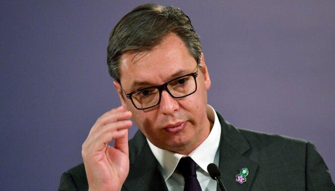 Serbijas prezidents neizprot Krievijas spiegošanas aktivitātes valstī