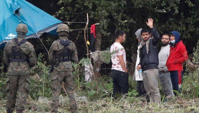 На границе Польши и Белоруссии обнаружили тело мигранта из Ирака