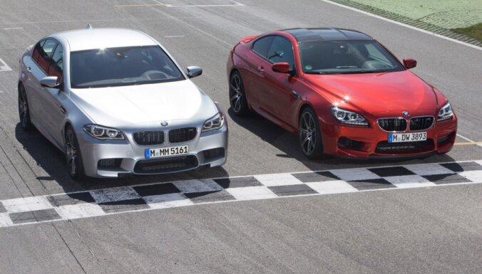Nākamais 'BMW M5' un 'M6' būs ar pilnpiedziņu