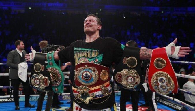 Всемирный боксерский совет лишил Усика чемпионского титула