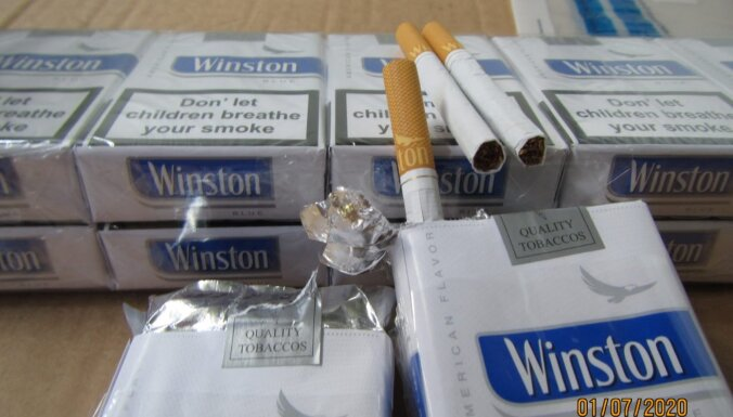 Таможенники обнаружили в порту почти 5 млн. контрабандных сигарет