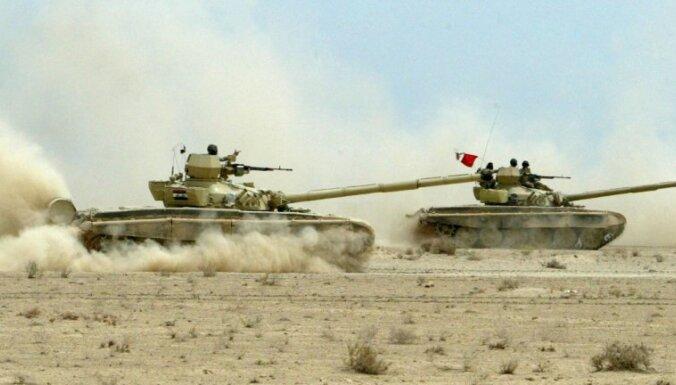 Sīrijas valdība Aridas pilsētā ieved tankus