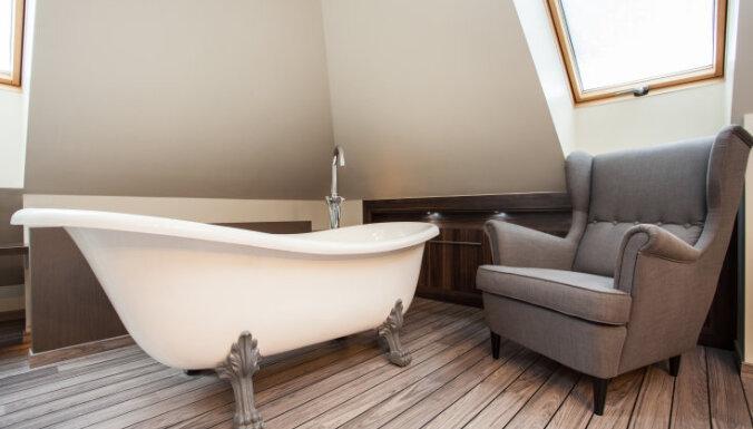 Spoža un balta vanna - bez ķīmijas!