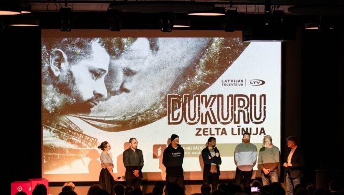 Foto: Siguldā pirmizrādi piedzīvo dokumentālā filma 'Dukuru zelta līnija'