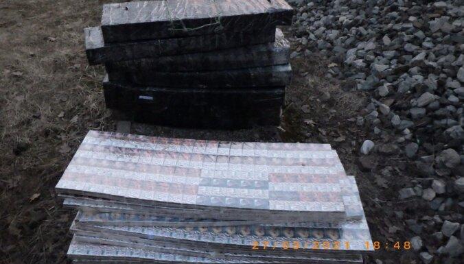 ФОТО. Таможенники обнаружили 240 400 контрабандных сигарет
