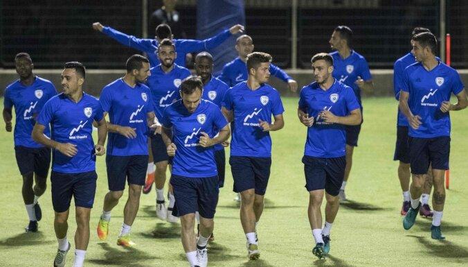 Izraēlas futbola izlases treneris: jo ātrāk gūsim vārtus, jo vieglāk būs spēlēt