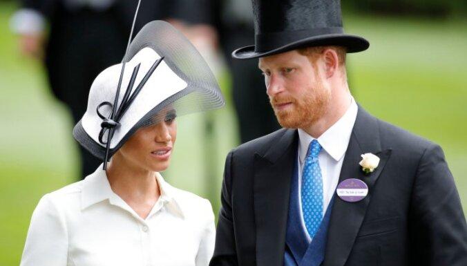 ФОТО: Меган Маркл впервые посетила с королевской семьей скачки Royal Ascot