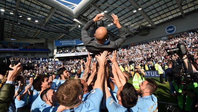 Medijs: UEFA komisija rekomendēs uz sezonu diskvalificēt 'Manchester City' no Čempionu līgas