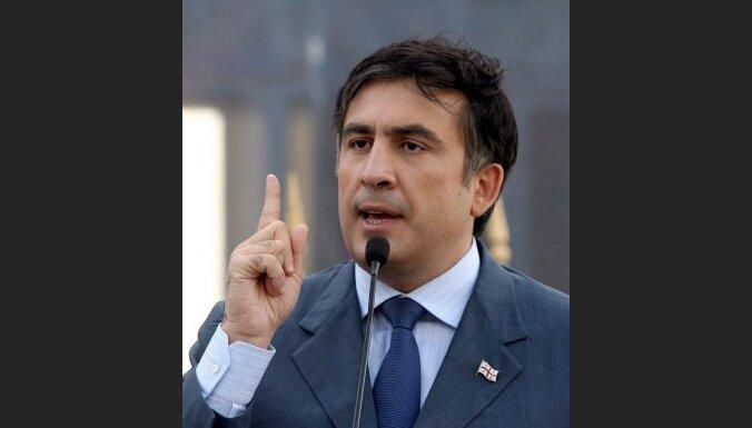 Saakašvili: Gruzija pretojas Maskavas kūdītajiem nemieriem