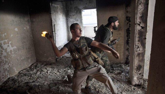 NVO: nemieros Sīrijā bojāgājušo skaits pārsniedz 42 tūkstošus
