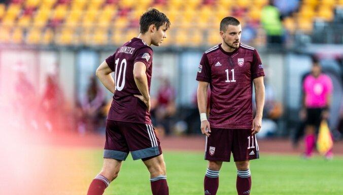 Лига наций: Сборная Латвии не сумела победить на Фарерах, Россия сыграла вничью с Турцией